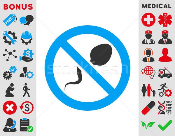 Spermicide Icon Stock photo © ahasoft