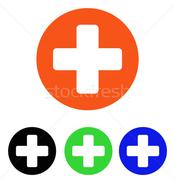 Stock photo: Medicine Flat Vector Icon