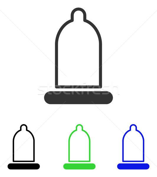 Wektora ikona ilustracja stylu ikonowy kolorowy Zdjęcia stock © ahasoft