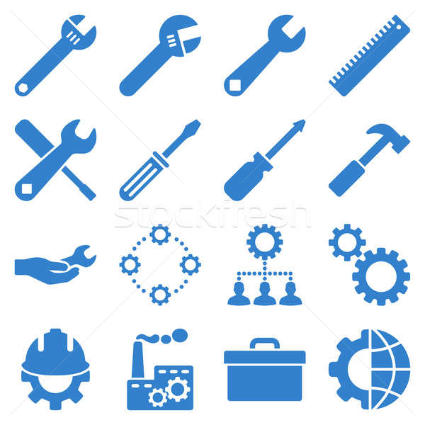 опции службе инструменты стиль Сток-фото © ahasoft