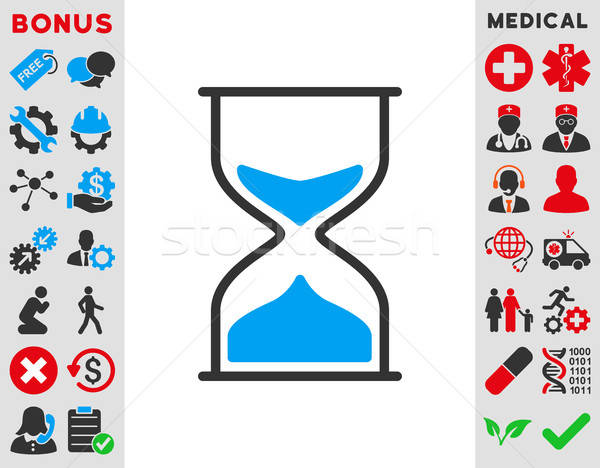 Hourglass Icon Stock photo © ahasoft