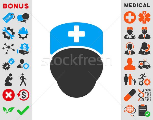 Doctor Head Icon Stock photo © ahasoft