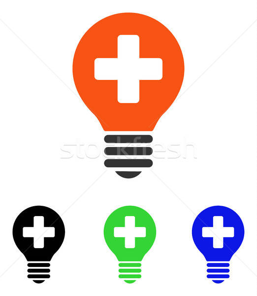 Cuidar bulbo vetor ícone ilustração estilo Foto stock © ahasoft