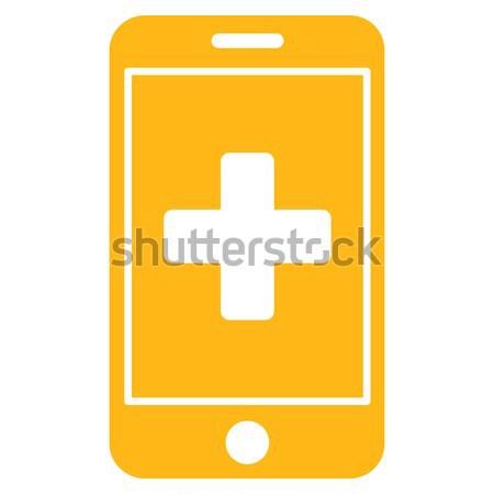 Pharmacy Flat Icon Stock photo © ahasoft
