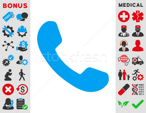Phone Receiver Icon Stock photo © ahasoft