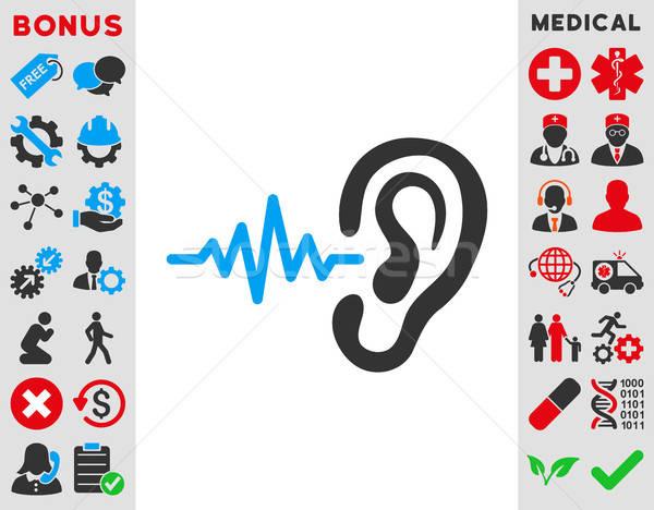 Listen Icon Stock photo © ahasoft