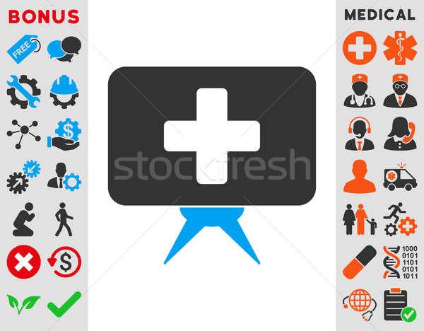 Health Care Presentation Icon Stock photo © ahasoft