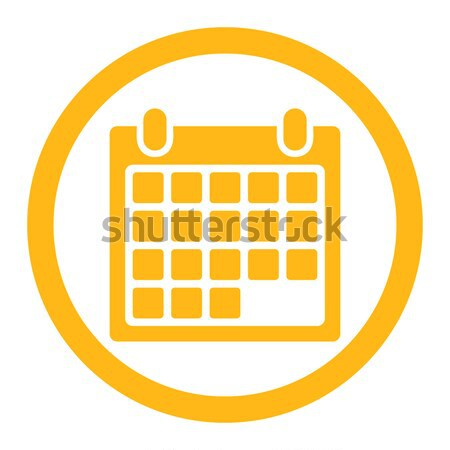 Calendar Appointment Flat Vector Icon Stock photo © ahasoft