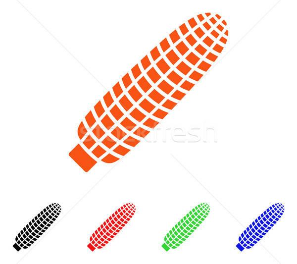 Corn Ear Vector Icon Stock photo © ahasoft