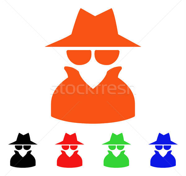 Spy Vector Icon Stock photo © ahasoft