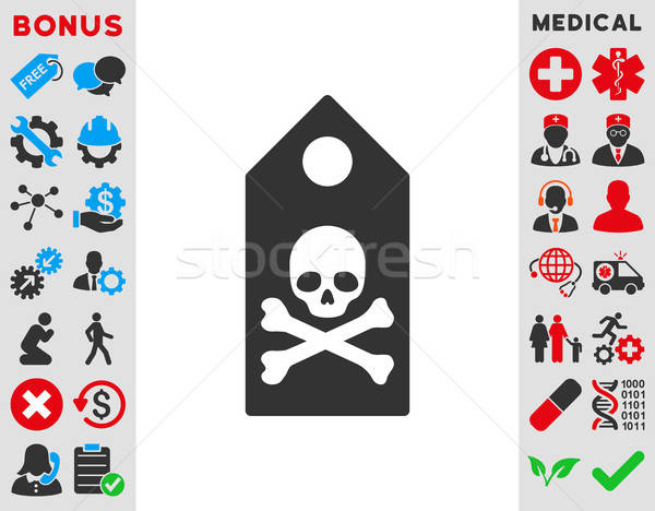 Death Mark Icon Stock photo © ahasoft