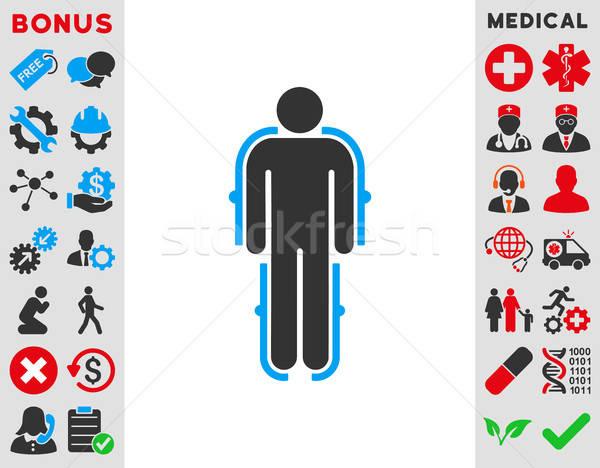 Exoskeleton Icon Stock photo © ahasoft