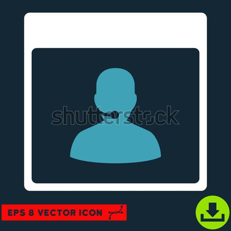 Online Support Flat Icon Stock photo © ahasoft