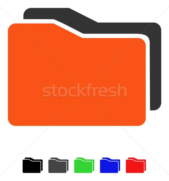 икона вектора пиктограммы цвета Сток-фото © ahasoft