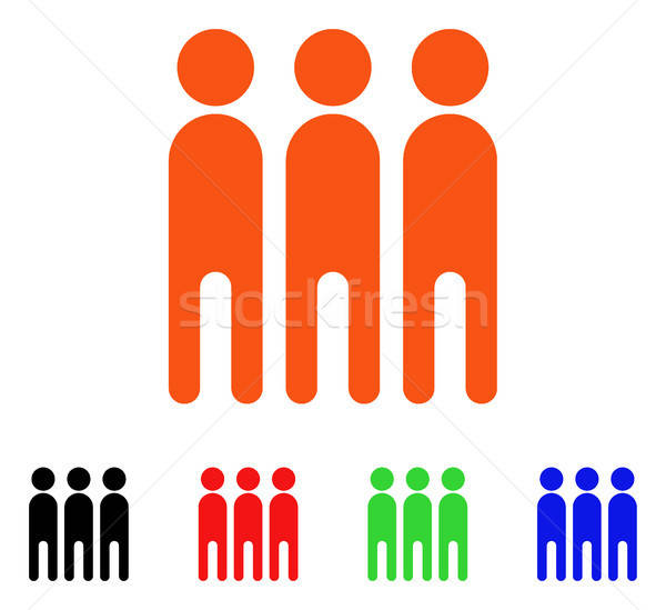 Persons Vector Icon Stock photo © ahasoft