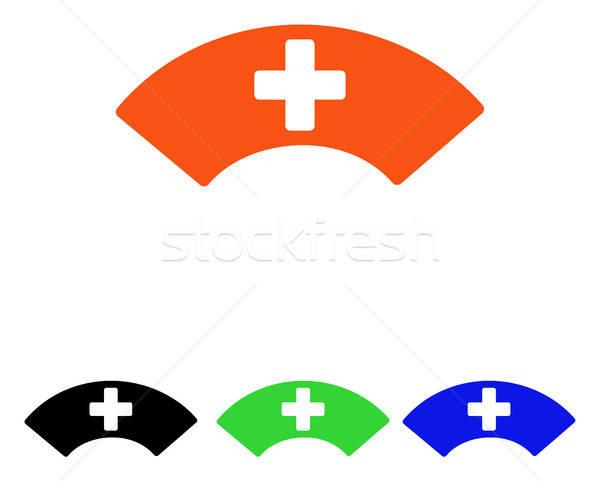 Medical Visor Flat Vector Icon Stock photo © ahasoft