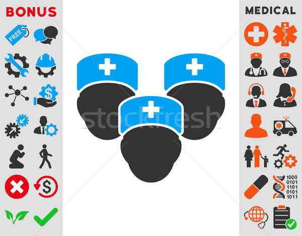 Medical Staff Icon Stock photo © ahasoft