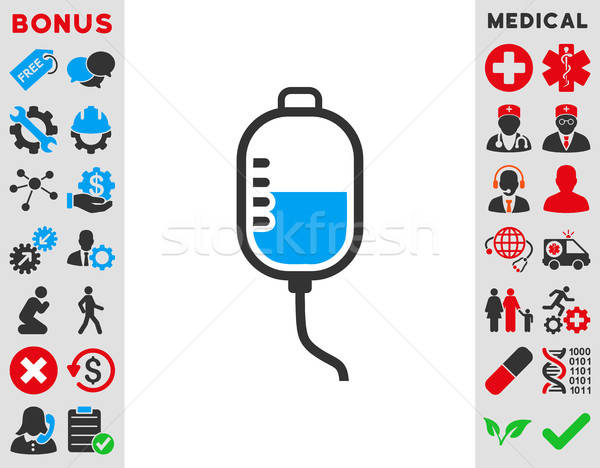 Therapy Dropper Icon Stock photo © ahasoft