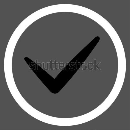 Yes Raster Icon Stock photo © ahasoft