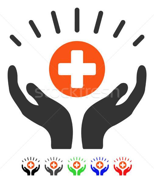 Medycznych ikona wektora piktogram kolorowy kolor Zdjęcia stock © ahasoft