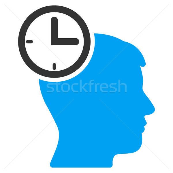 Időbeosztás fej ikon vektor alkalmazás web design Stock fotó © ahasoft