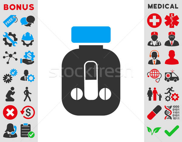 Male Medicine Icon Stock photo © ahasoft