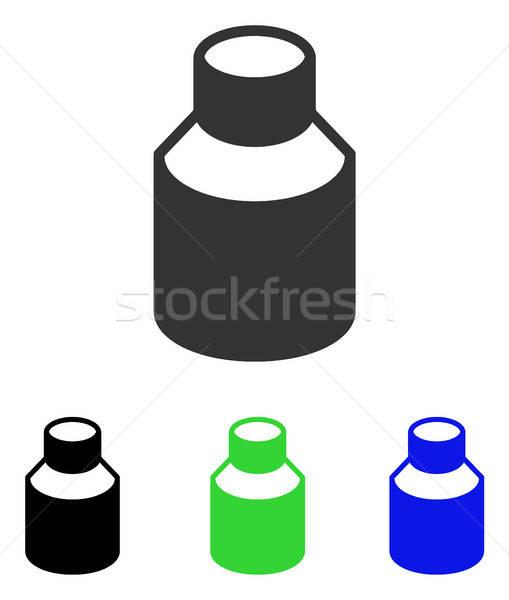 Fiola vektor ikon illusztráció stílus ikonikus Stock fotó © ahasoft