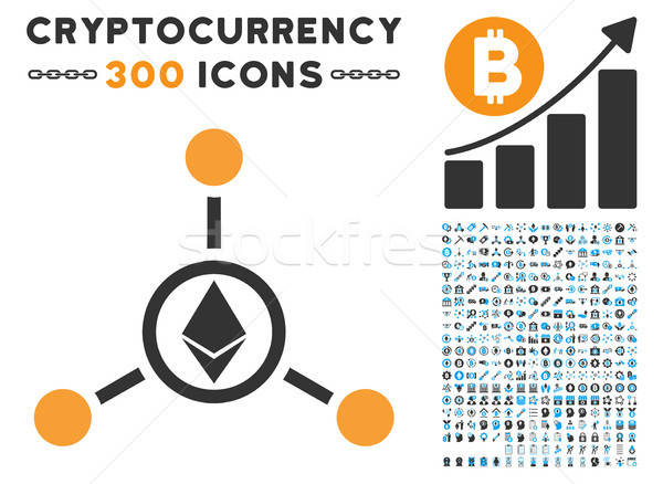 Betrekkingen icon smart contract vector Stockfoto © ahasoft