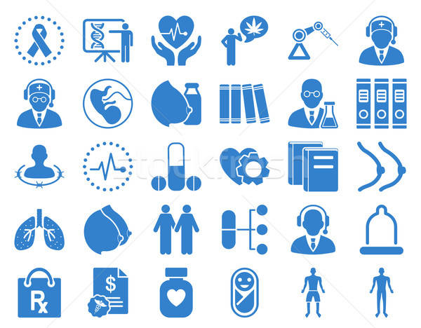 Medical Icon Set Stock photo © ahasoft
