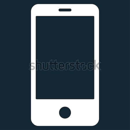 Smartphones Flat Raster Icon Stock photo © ahasoft