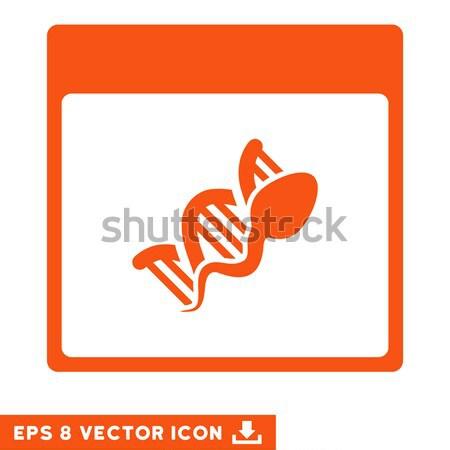 Sperm Replication Flat Icon Stock photo © ahasoft