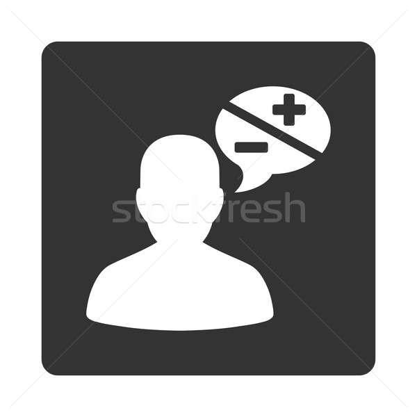 Arguments icon Stock photo © ahasoft