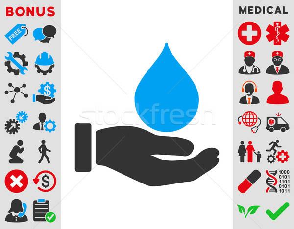 Donate Blood Icon Stock photo © ahasoft