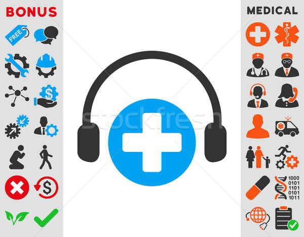 Hospital llamada servicio icono estilo símbolo Foto stock © ahasoft