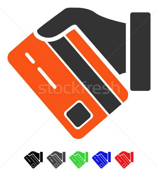 カード 支払い アイコン ベクトル 絵文字 ストックフォト © ahasoft