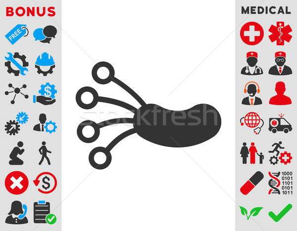Infection Microbe Icon Stock photo © ahasoft