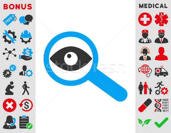 Investigate Icon Stock photo © ahasoft