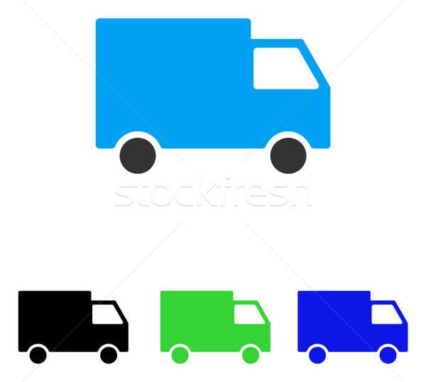 Carga van vector icono ilustración estilo Foto stock © ahasoft