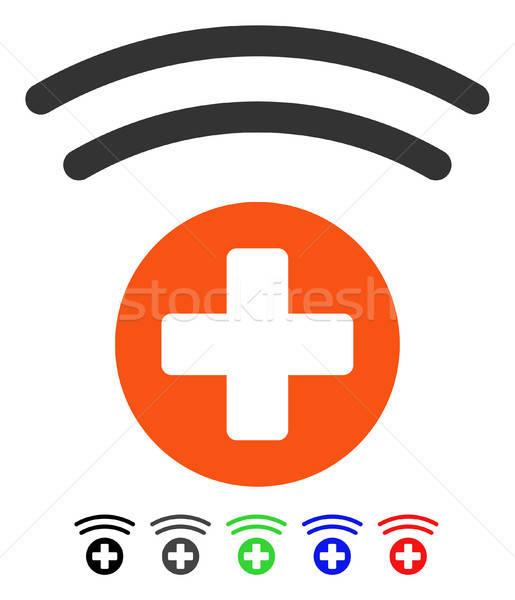 Medical Source Flat Icon Stock photo © ahasoft