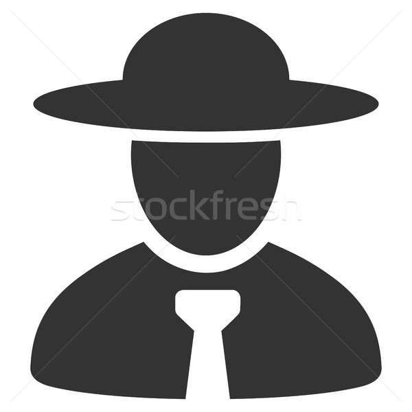Boss икона пиктограммы стиль графических серый Сток-фото © ahasoft