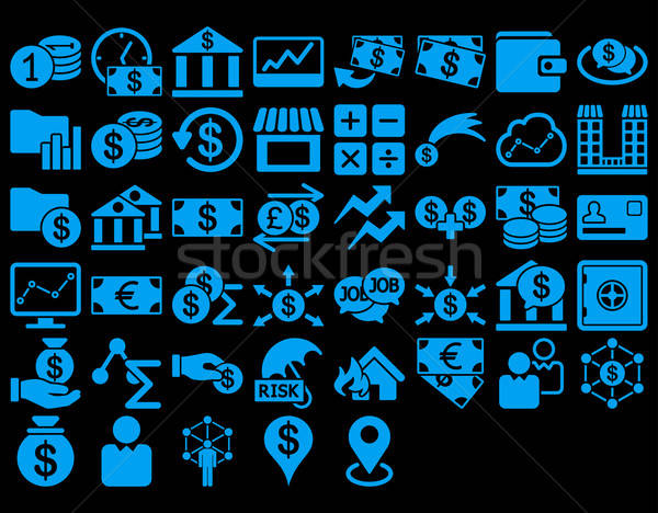Business Icon Set Stock photo © ahasoft