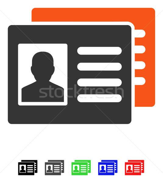 Patient Accounts Flat Icon Stock photo © ahasoft