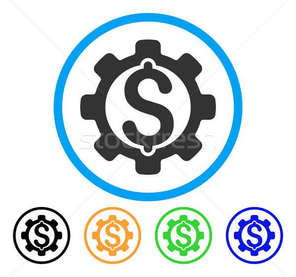 Pagamento opções ícone estilo icônico cinza Foto stock © ahasoft
