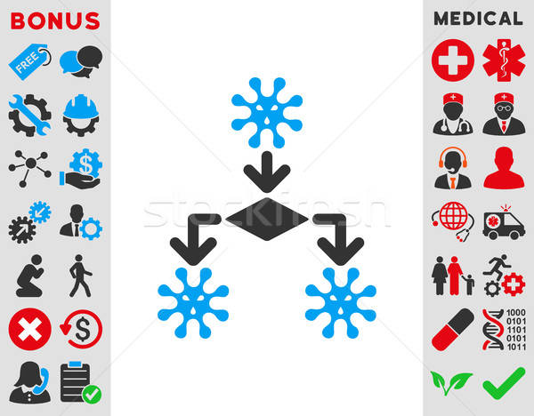 Virus Reproduction Icon Stock photo © ahasoft