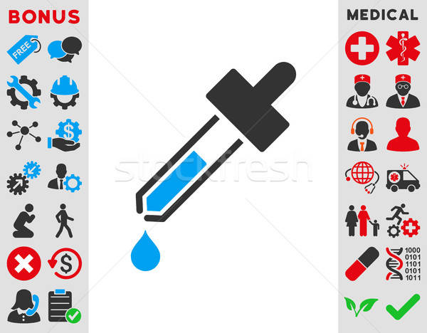 Dropper Icon Stock photo © ahasoft