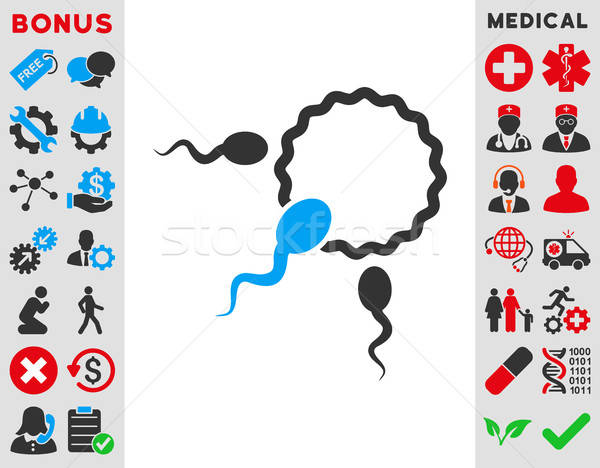 Fertilization Icon Stock photo © ahasoft