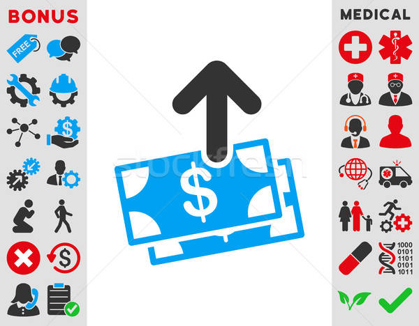 Spend Money Icon Stock photo © ahasoft