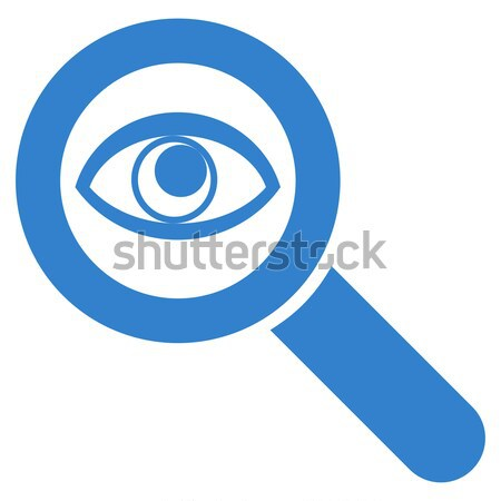 Eye Explore Vector Icon Stock photo © ahasoft