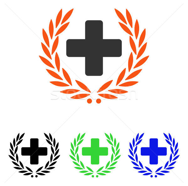 Medical Glory Flat Vector Icon Stock photo © ahasoft