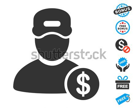Guy Salary Vector Icon Stock photo © ahasoft